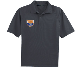 NCHSAA  Men's New Iron Grey Volleyball Shirt - Sanmar-Gearef officiating supplies - 1
