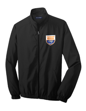 NCHSAA Lightweight Basketball Pregame Jacket - Sport Tek-Gearef officiating supplies