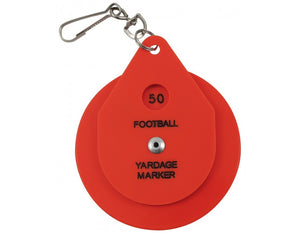 Football Chain Clip-Dial Style - Smitty Official's Apparel-Gearef officiating supplies