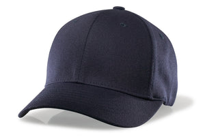 RICHARDSON NAVY FLEX FIT BASE HAT-8 STITCH VISOR