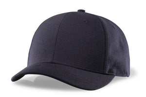 RICHARDSON NAVY PLATE HAT-4 STITCH VISOR