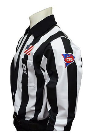 SmittyUSA-Dye sumblimated CFO Football Jersey-Long Sleeve - Smitty Official's Apparel-Gearef officiating supplies - 1