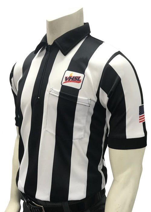 VHSL Football 2.25 Inch Stripe Short Sleeve Football Shirt