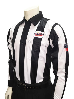 VHSL Football 2.25 Inch Stripe Long Sleeve Football Shirt