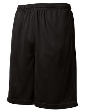Black Officiating Shorts - Sport Tek-Gearef officiating supplies - 1