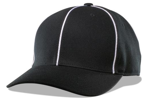 Richardson Flex-Fit Football Cap-Black - Richardson-Gearef officiating supplies