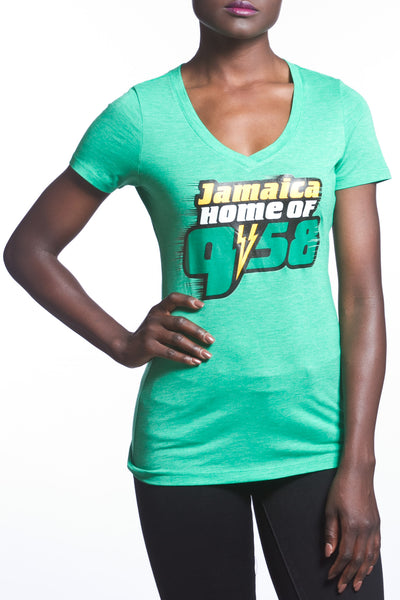 Jamaica Home of 9.58 Women's T-Shirt