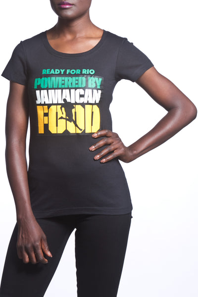 Ready For Rio Powered By Jamaican Food Women's T-Shirt