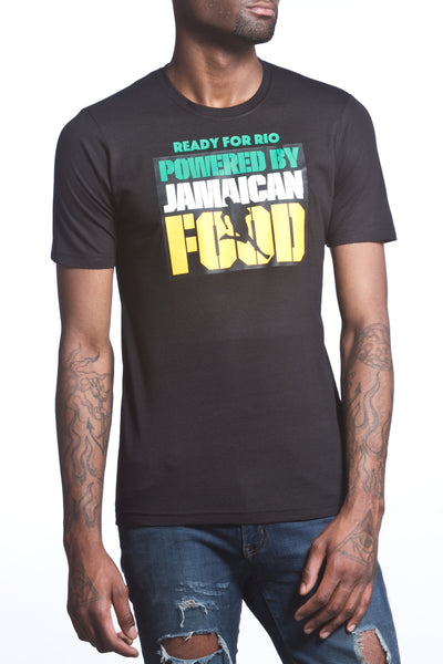 Ready for Rio Powered by Jamaican Food Men's T-Shirt