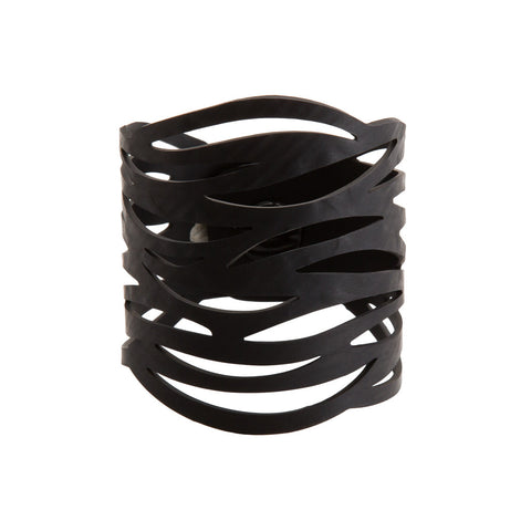autumn recycled rubber bracelet