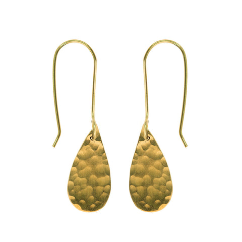 april showers raindrop earrings