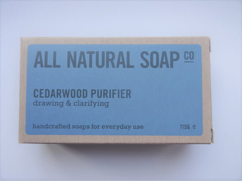 All Natural Soap Company All Natural Cedarwood Purifier Soap Bar - Be good. Shop.
