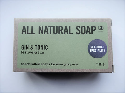 All Natural Gin and Tonic Soap Bar