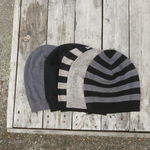 Fairtrade knit hat in different colours