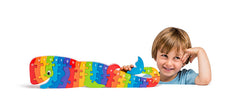 fairtrade sustainable wood whale a z jigsaw