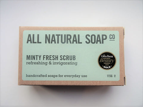 All Natural Soap Company All Natural Minty Fresh Soap Bar - Be good. Shop.