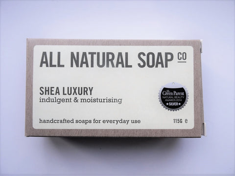 All Natural Shea Luxury Soap Bar