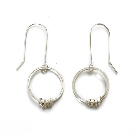 Fair Trade Sterling Silver Hoop Earrings