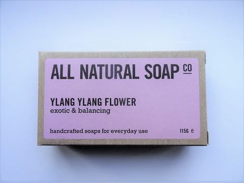 All Natural Ylang Ylang Flower Soap Bar