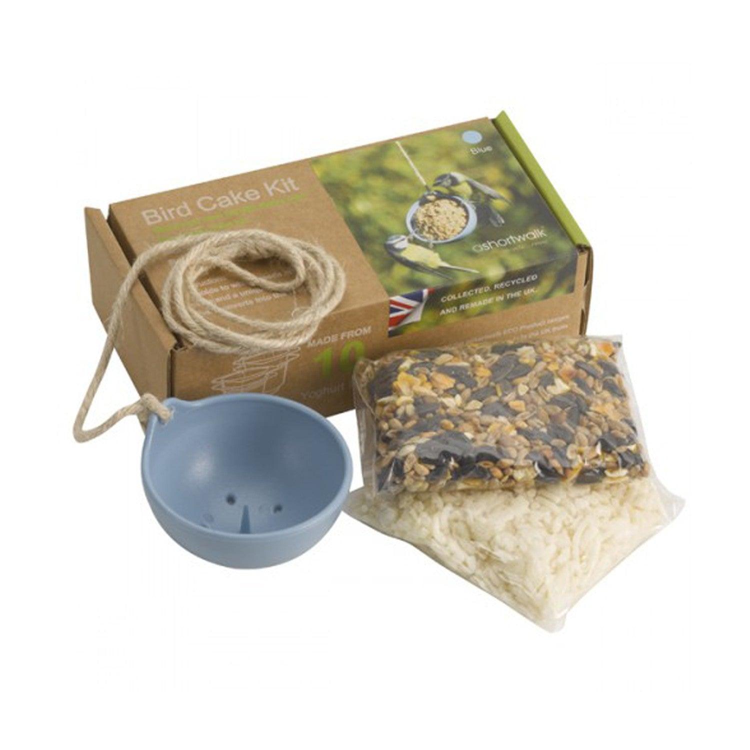 sustainable bird cake kit