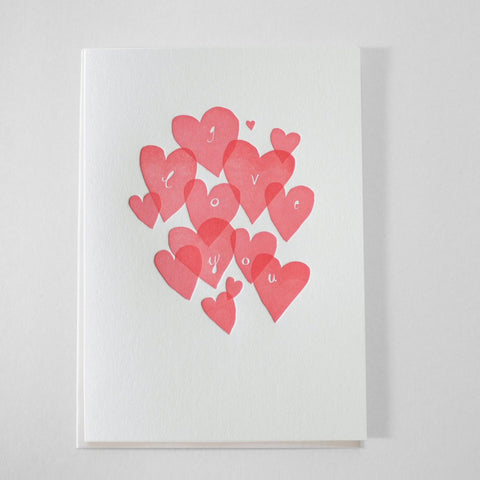 i love you eco greeting card