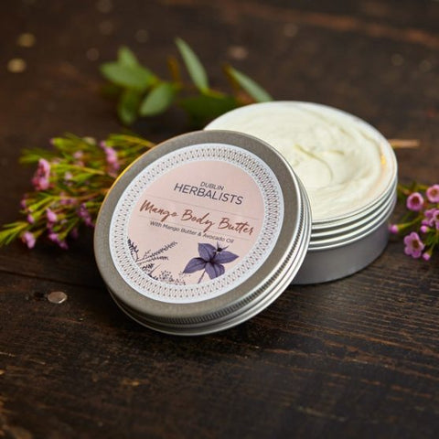 Dublin Herbalists All Natural Mango Body Butter - Be good. Shop.