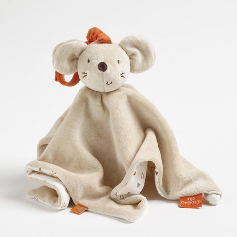 sustainable ethical baby mouse comforter