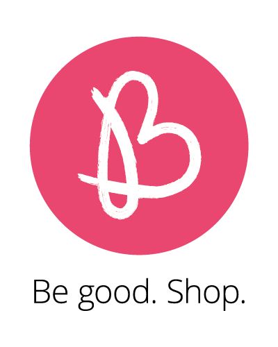 Be good. Shop.