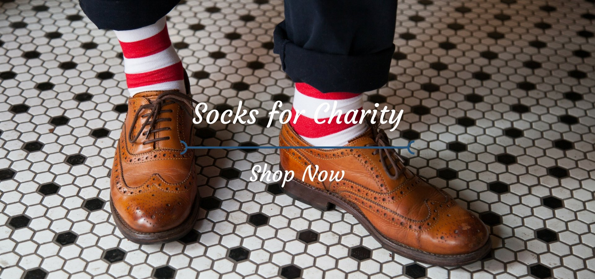 Shop charity supporting socks