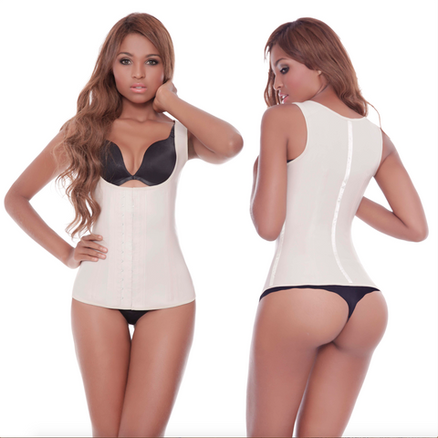 2 Hook Beige Latex Vest