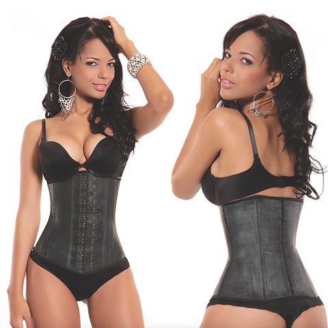 2 Hook Black Latex Shaper Long