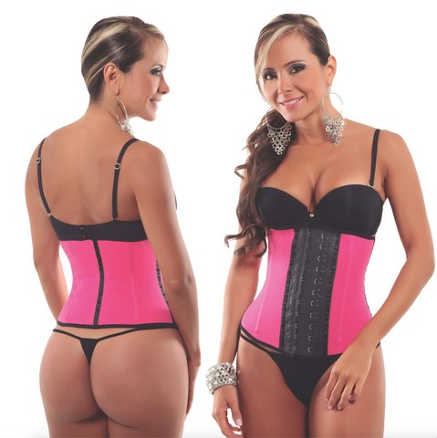 2 Hook Pink Sports Shaper Short