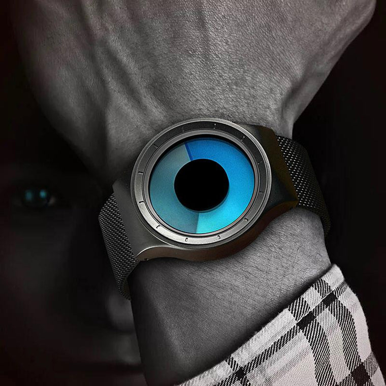 Hypnotic Stainless Steel Watch