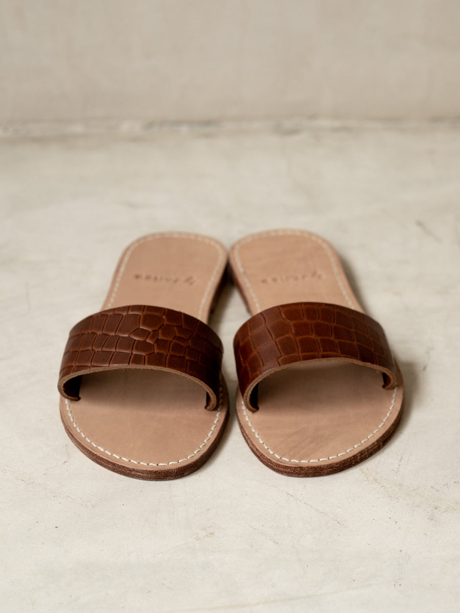 Samora Leather Sandal
