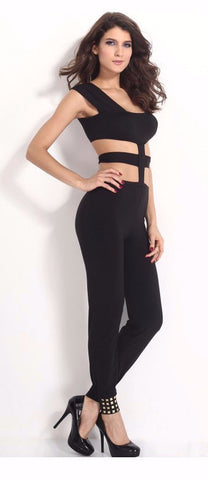 Seductive Cut Out Styled Jumpsuit