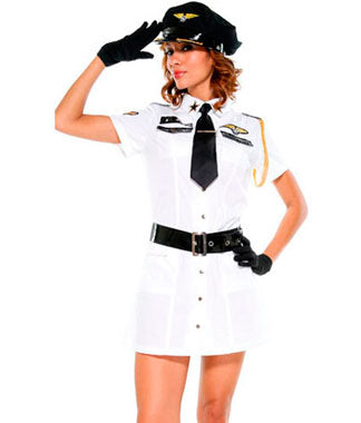 Sexy Aviation Costume (Pre-Order)