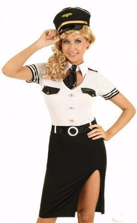 Sexy Airline Pilot Costume (Pre-Order)  sc 1 st  Lotus Collections & Halloween Costumes u2013 Lotus Collections