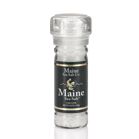 Sea Salt, Grinder - 3.6oz, Maine Sea Salt