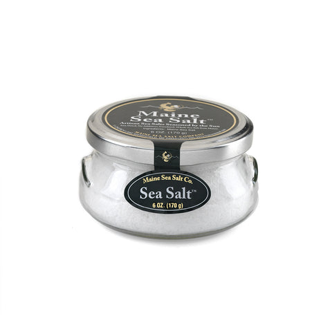 Sea Salt, Maine Sea Salt (6 oz or 1 lb)