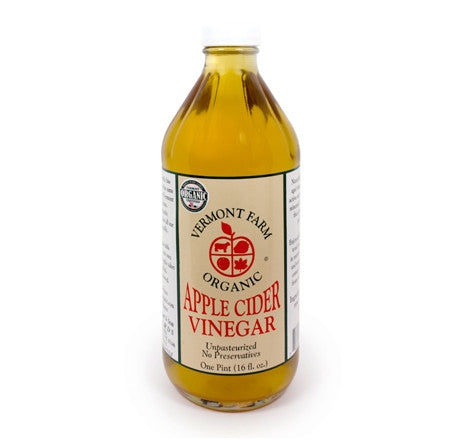 Organic Apple Cider Vinegar (1 pt or 1 qt)