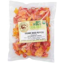 Frozen Diced Peppers (10 oz)