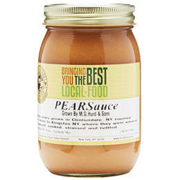 Pear Sauce, Bosc 16 oz