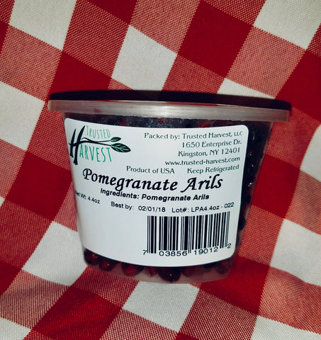 Pomegranate Arils - 4.4 oz, Trusted Harvest