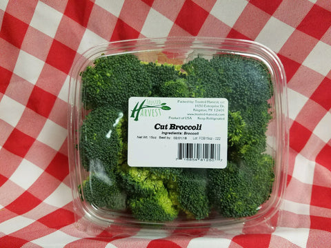 Cut Broccoli - 15 oz, Trusted Harvest
