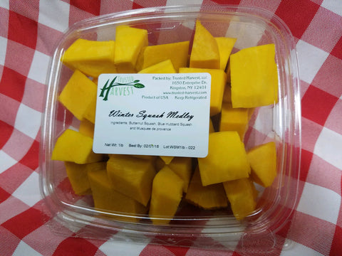 Cubed 3 Squash Medley - 1lb, Trusted Harvest
