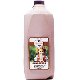 Chocolate Creamline Milk (1/2 gal)