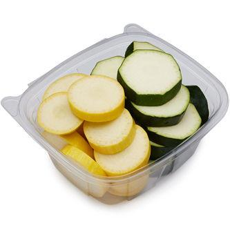 Summer Squash & Zucchini Coins - 1lb, Trusted Harvest