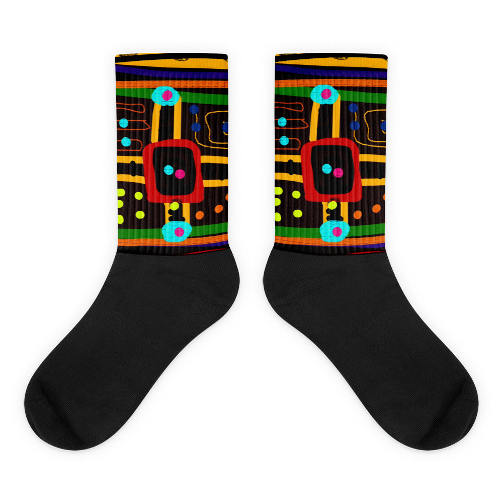 Parchoosie Socks by Susan Fielder Art