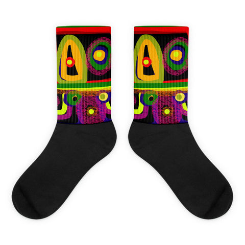 Healing Eyes Socks by Susan Fielder Art
