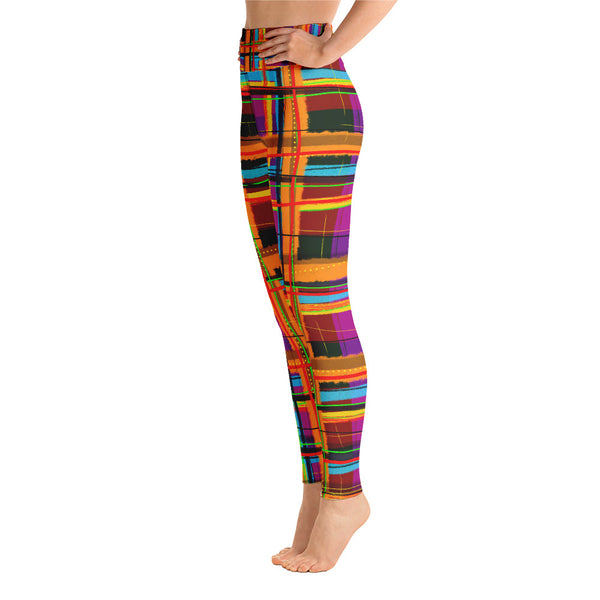 Rad Plaid Yoga Leggings